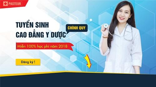 Tuyển sinh Cao đẳng Y Dược TP HCM năm 2018