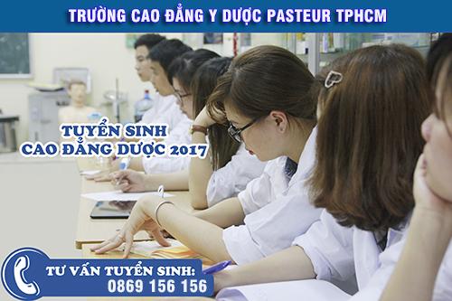 Cao đẳng DƯợc Hồ Chí Minh tuyển sinh vào thời gian nào