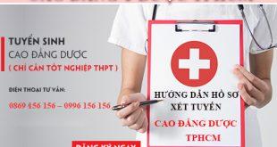 Đăng ký Cao đẳng Dược Hồ Chí Minh