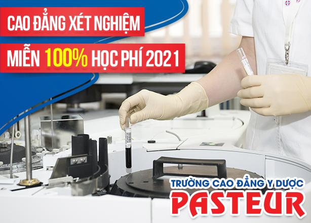 Xét tuyển trực tuyến Cao đẳng Xét nghiệm Hà Nội miễn 100% học phí 2021