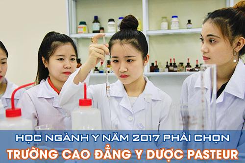 Trường Cao đẳng Y Dược Pasteur là địa chỉ đào tạo nguồn nhân lực ngành Y Dược