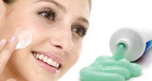 Kem đánh răng có thể thoa lên da?