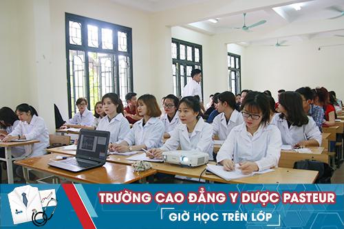 Trường Cao đẳng Y Dược Pasteur đào tạo Liên thông Cao đẳng Điều dưỡng học phí tiết kiệm