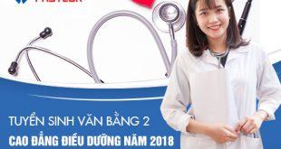 Học Văn bằng 2 Cao đẳng Điều dưỡng TPHCM với học phí hợp lý