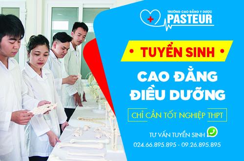 Trường Cao đẳng Y Dược Pasteur địa chỉ đào tạo Điều dưỡng viên chuyên nghiệp