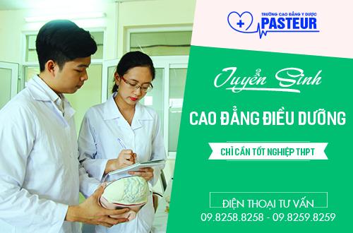 Trường Cao đẳng Y Dược Pasteur thông báo tuyển sinh Cao đẳng Điều dưỡng năm 2017