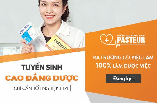 Trường Cao đẳng Y Dược Pasteur TP HCM là địa chỉ uy tín đào tạo Cao đẳng Dược