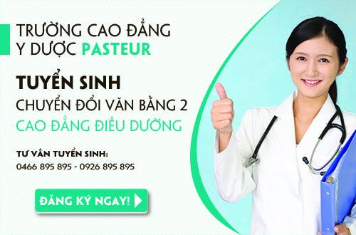 Trường Cao đẳng Y Dược Pasteur địa chỉ đào tạo Văn bằng 2 Cao đẳng Điều dưỡng uy tín nhất
