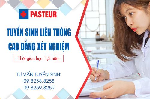 Trường Cao đẳng Y Dược Pasteur địa chỉ đào tạo liên thông Cao đẳng Xét nghiệm uy tín
