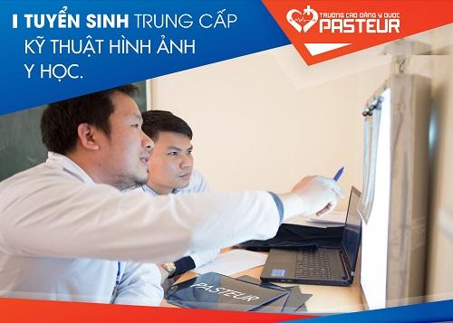 Trường Cao đẳng Y Dược Pasteur thông báo tuyển sinh Trung cấp kỹ thuật hình ảnh Y học