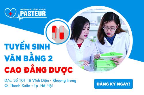 Trường Cao đẳng Y Dược Pasteur đào tạo chuyên ngành Dược uy tín