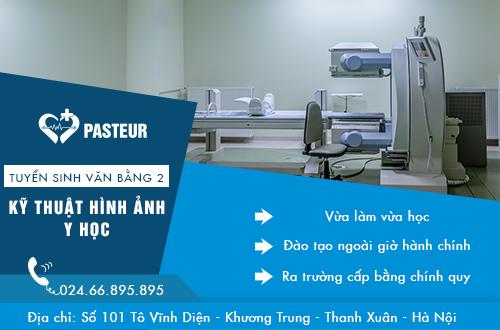 Trường Cao đẳng Y Dược Pasteur thông báo tuyển sinh Văn bằng 2 Trung cấp kỹ thuật hình ảnh Y học