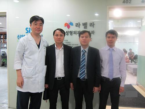 Viện thẩm mỹ Hà Nội đã giúp nhiều cơ sở thẩm mỹ trao đổi kỹ thuật