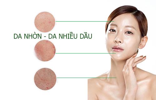 Da dầu thường có rất nhiều mụn và khó điều trị