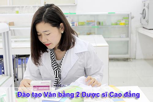 Đào tạo Dược sĩ Văn bằng 2 Cao đẳng Dược