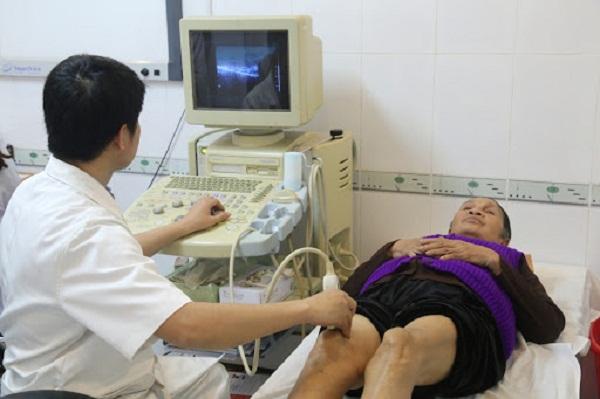 Siêu âm khớp gối chẩn đoán thoái hóa khớp