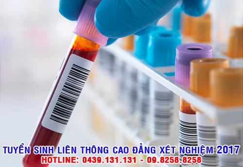 Liên thông Cao đẳng xét nghiệm từ Trung cấp chẩn đoán hình ảnh Y học?